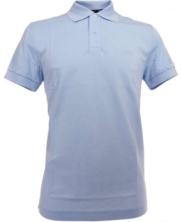 Hugo Boss Light Blue Firenze Two Button Polo