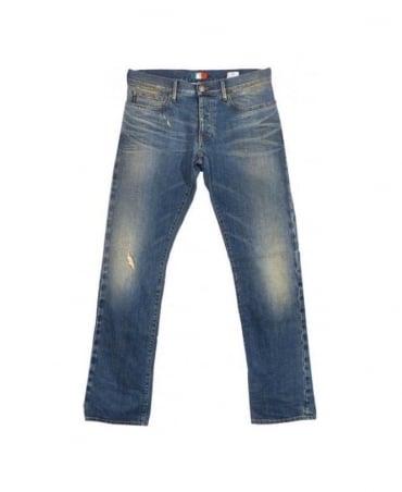 Armani Light Blue J02 Extra Slim Jeans
