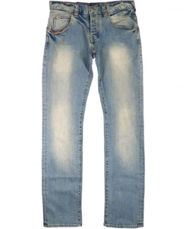 Armani Light Blue J08 Slim Fit Jeans