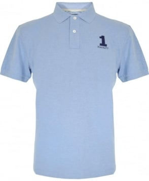 Hackett Light Blue New Classic Polo Shirt