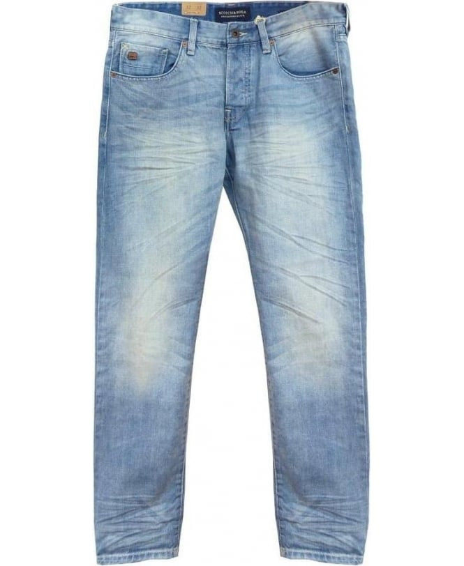 Scotch & Soda Light Blue Ralston 85020 Jeans