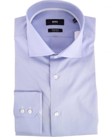 Hugo Boss Light Blue Regular Fit Gregory Shirt
