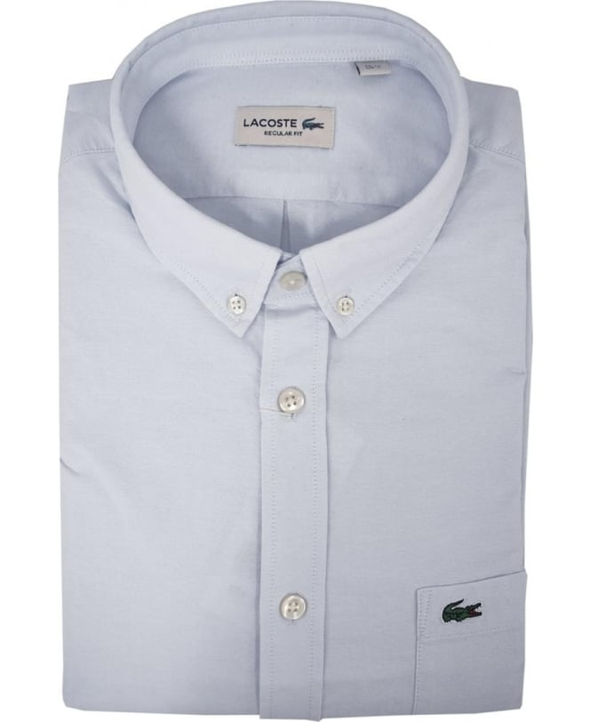 504cb2aa Lacoste Light Blue Short Sleeve Shirt