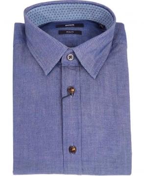 Hugo Boss Light Blue Slim Fit Ronny_36 Shirt