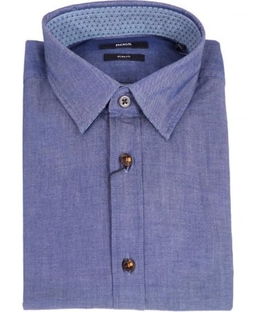 Hugo Boss Light Blue Slim Fit Ronny_36 Shirt