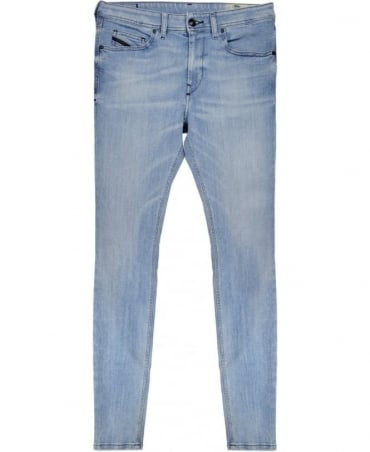 Diesel Light Blue Stickker 084D Skinny Jean
