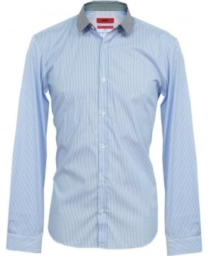 Hugo Light Blue Stripe Ero Shirt 50260395