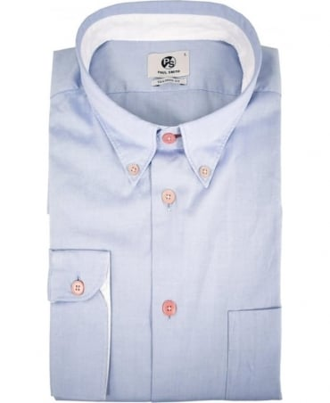 PS by Paul Smith Light Blue Tailored Fit Shirt