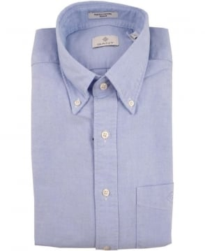 Gant Light Blue The Perfect Oxford Diamond G Shirt