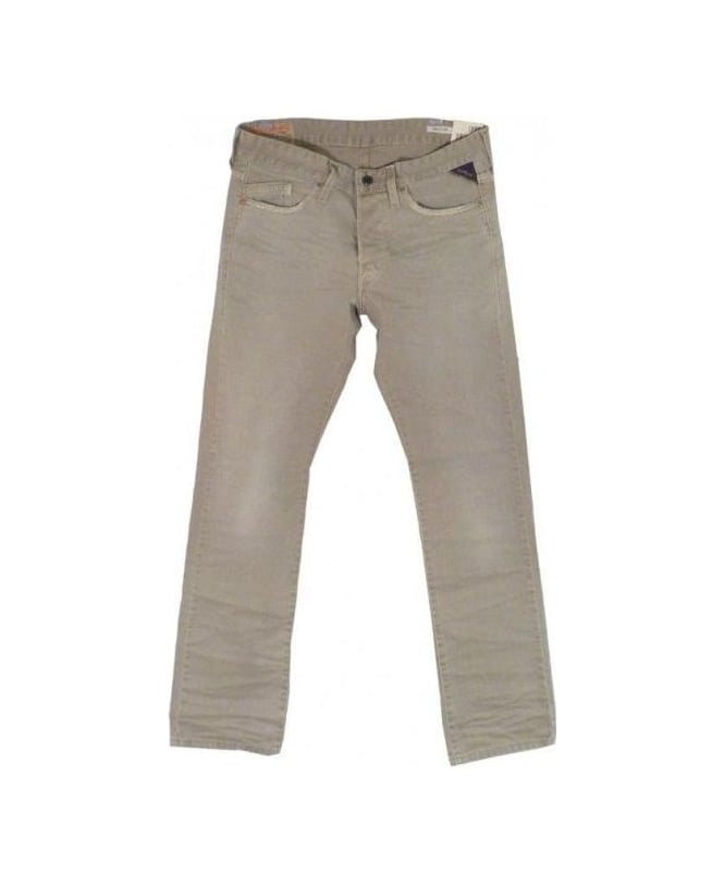 Replay Light Brown/Beige Waitom Jeans