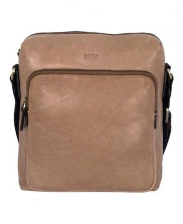 Hugo Boss Light Brown Manolos Bag