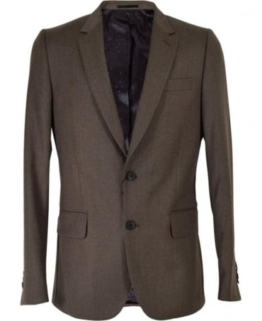 Light Grey Gents Tailored Fit 2BTN Suit