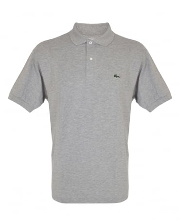 Lacoste Light Grey Marl Classic Fit L1264 Polo
