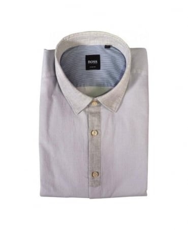 Hugo Boss Light Grey Raffaele Shirt