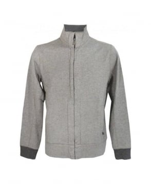 Hugo Boss Light Grey Zip Up Sweatshirt