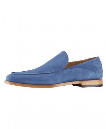 Light Indigo Genoa Moccasin
