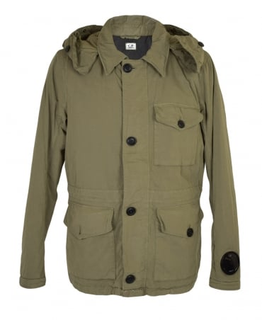 CP Company Light Khaki Google Field Parka Jacket