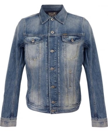 Diesel Light Wash Elshar Denim Jacket
