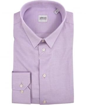Armani Collezioni Lilac Collezioni Modern Fit Shirt