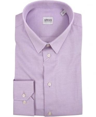 Armani Lilac Collezioni Modern Fit Shirt