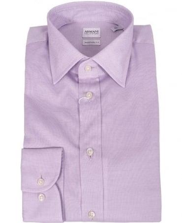 Armani Lilac Collezioni RC37C Modern Fit Shirt