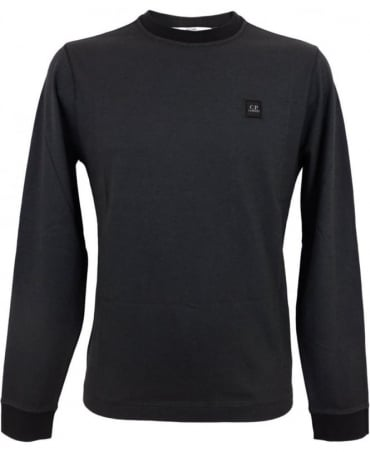 CP Company Long Sleeved Tacting T-shirt In Black