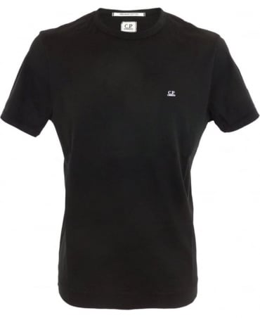 CP Company Mako Cotton T-shirt In Black