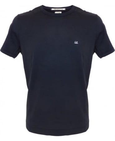 CP Company Mako Cotton T-shirt In Navy