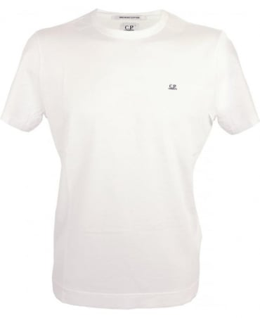 CP Company Mako Cotton T-shirt In White