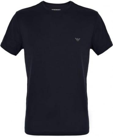 Emporio Armani  Marine Blue Crew Neck T-Shirt