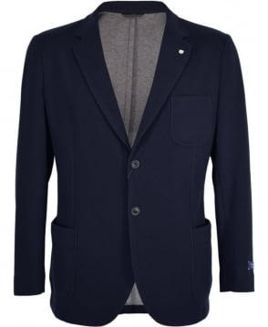 Gant Marine Cotton Piqué Single Breast Jacket