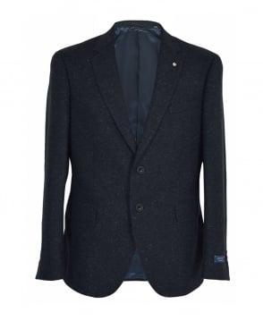 Gant Marine Melange Tailored Fit Donegal Jacket