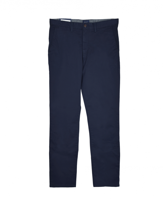 Gant Marine Regular Fit Twill Chinos