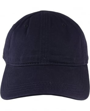 Lacoste Marine RK9811 Adjustable Cotton Cap