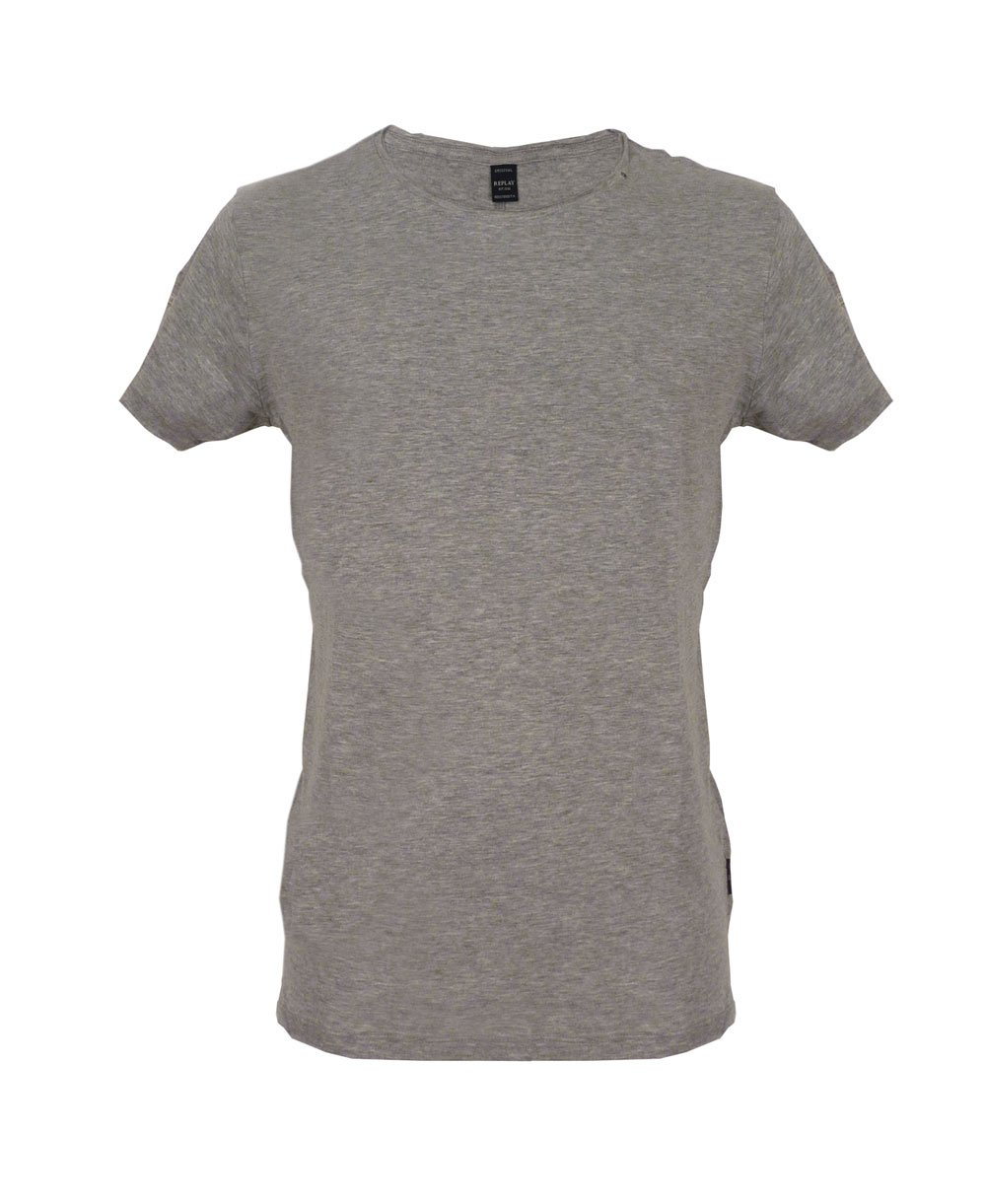 Marl grey m6882 t shirt for Grey marl t shirt