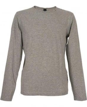 Replay Marl M6885 Grey Long Sleeve T-shirt