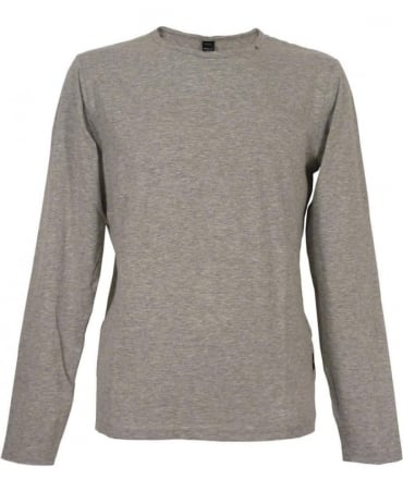 Replay Marl M6885 Grey Long Sleeve T-shirt