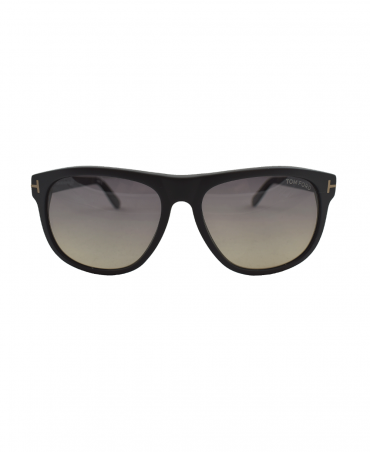 55345662c944b Matte Black Olivier Soft Square Sunglasses · Tom Ford ...