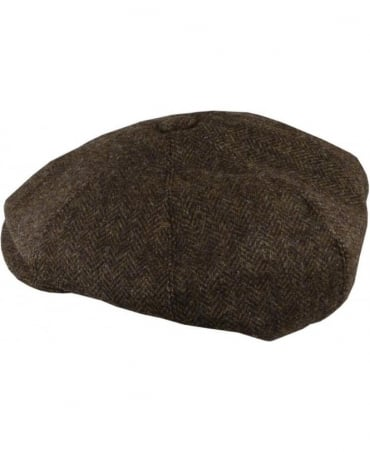 Oliver Sweeney Mazzucco Brown Baker Boy Hat