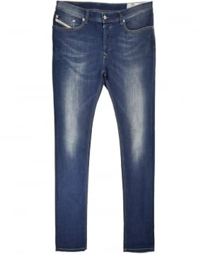 Diesel Medium Blue Waykee 06791 Regular Straight Jean