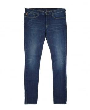 Armani Jeans Medium Dark Blue 6Y6J06 Slim Fit Jeans