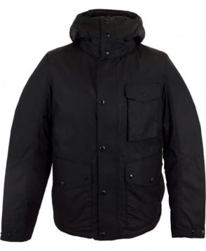 C.P. Company Micro-M 3 Pocket Goggle Jacket In Black