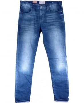 Scotch & Soda Mid Blue Catch 22 5 Pocket Tailored Skinny Fit Jeans