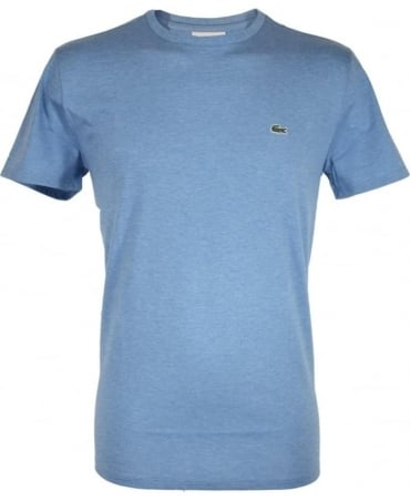 Lacoste Mid Blue Crew Neck TH6709 T-Shirt
