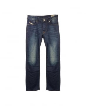 Diesel Mid Blue Dark Wash Larkee 0818N Jeans
