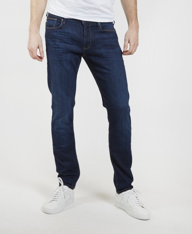 afd00ef5ffdf0 Emporio Armani Mid Blue J06 Slim Fit Jeans - Jeans from Jonathan ...