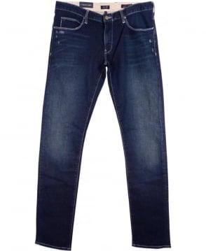 Armani Mid Blue J10 Extra Slim Fit Jeans