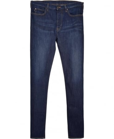 Armani Jeans Mid Blue J21 Regular Fit Jean