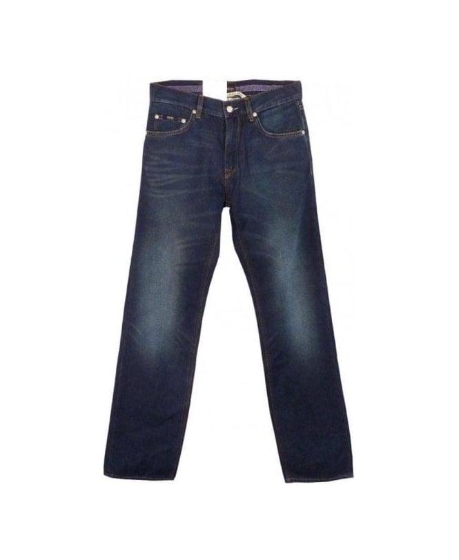 Hugo Boss Mid Blue Maine Jeans