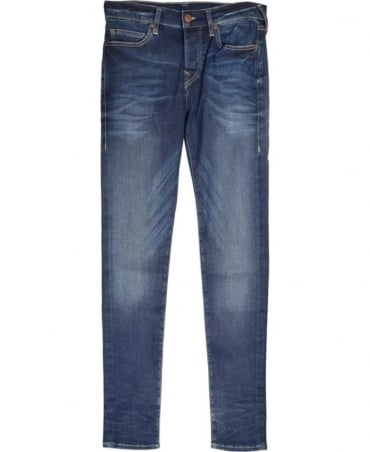 True Religion Mid Blue Skinny Superstretch Jeans